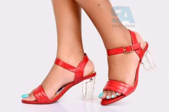 Catchy Chunky heels image 4