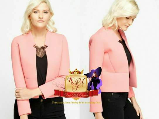 Coral/Pink Scuba Bomber Jacket Made in UK image 1