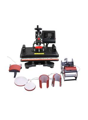 5 in 1, 6 in 1 , 8 in 1 and 9 in 1 Heat Press Machine Set.