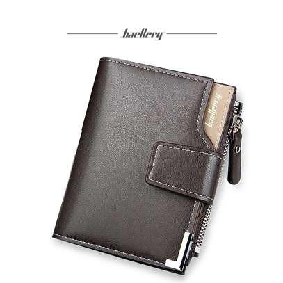 Black Leather Wallet-Baellerry image 5