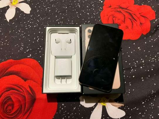 Apple Iphone 11 Pro Max  Gold ♧ 512 Gigabytes image 3