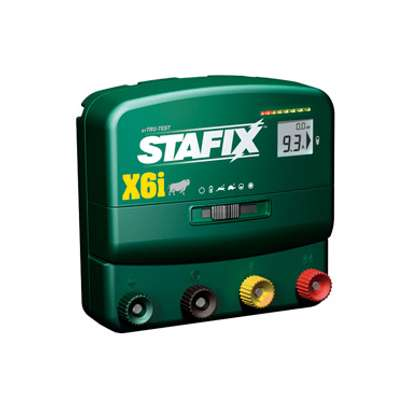 Stafix X6i Unigizer Electric Fence Energizer