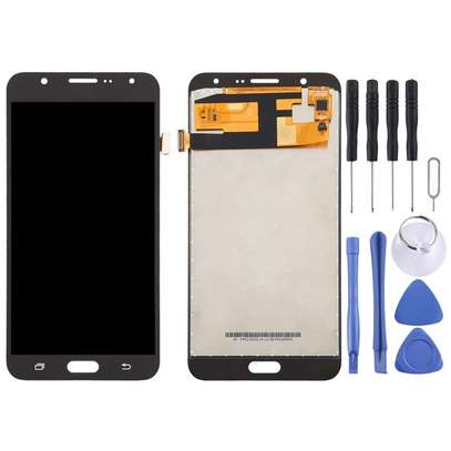 LCD Screen and Digitizer Fullembly for Galaxy J7 (2015) image 2