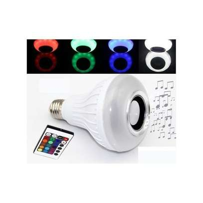 LED Music Bulb With Bluetooth,Music Player With FREE USB disk. image 3