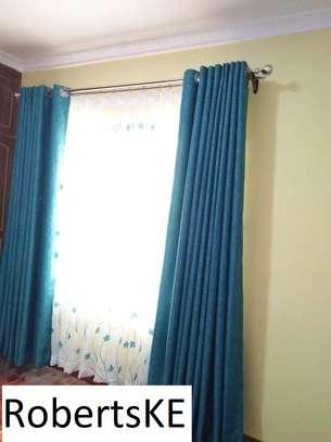 light blue curtain image 1