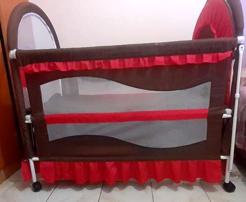 Baby cot - As good as new image 1