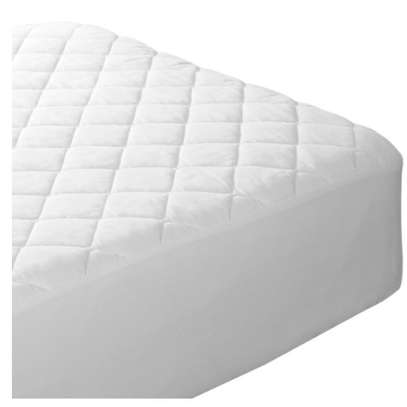 WHITE 4 BY 6 MATTRESS PROTECTOR image 1