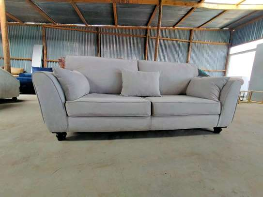 3 seater slanting Arms sofa image 1
