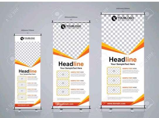 Durable roll up banner printing image 1