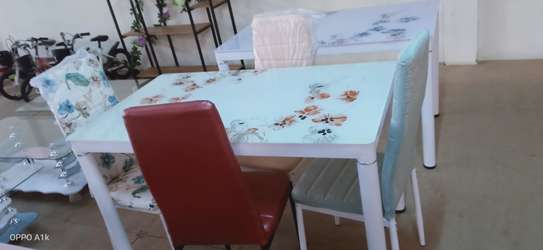 4 seater Floral Dinning sets