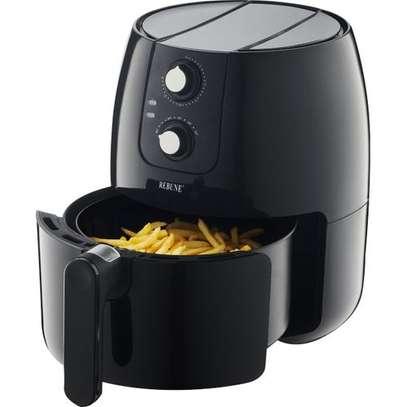 Rebune Air Fryer 3.5L, 1500W - Black image 1