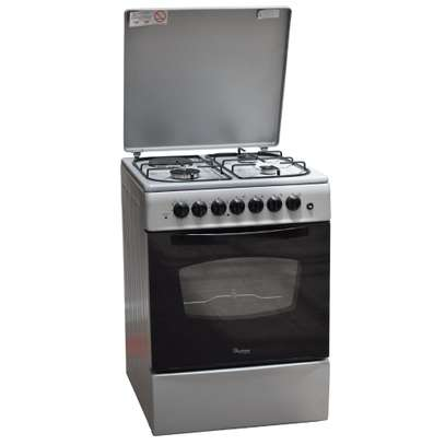 Ramtons 3G+1E 60X60 SILVER COOKER- RF/406 image 2