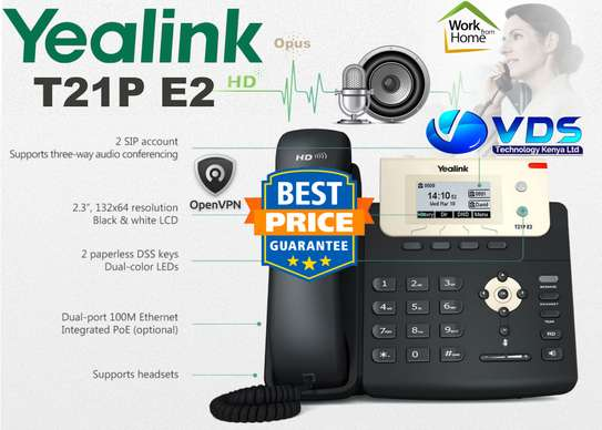Yealink T21P Audio Conference IP Phone image 1