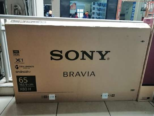 Sony 65X8000H 65'' HDR Smart Android LED UHD 4K TV-NEW image 1