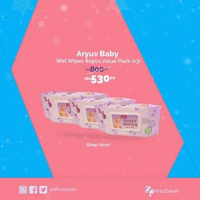 Aryuv Baby Wet Wipes 80pcs