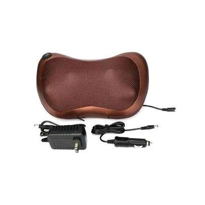 Generic massager pillow Automobile home dual uses heating massager image 1