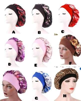 Ladies colourful bonnets /head wraps image 2