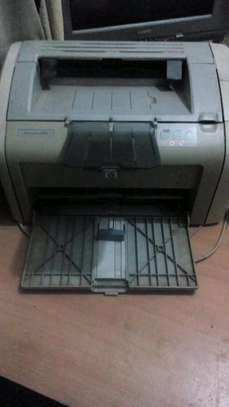 HP LaserJet 1020 Printer with Partially Full 12A Toner Cartridge