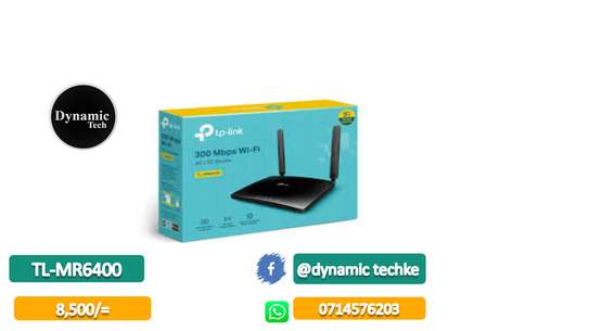 4G WIRELESS ROUTER TL-MR6400 image 1