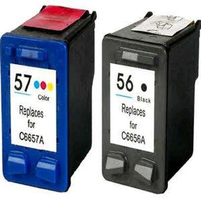 57 inkjet cartridge tri-colour C6657AE refills image 1