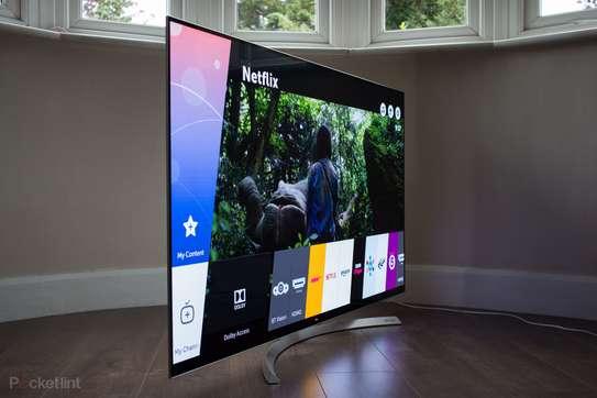 LG 55 Inch 4K Ultra HD OLED Smart TV - 55B7V. Call Now image 1