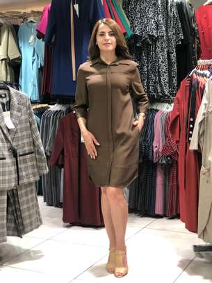Women Latest dresses casual formal daily office wear for sale at affordable price image 1