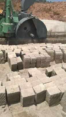 Blocks machine cut