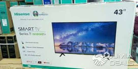 Hisense 43 Inch Smart Android Tv image 1