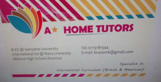 Home tuition for math english and all science (chem n biology)