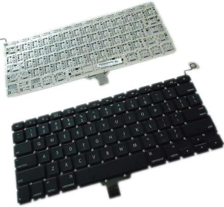"""A1278 Keyboard replacement without Backlight Backlit Compatible with MacBook Pro 13"""" image 1"""