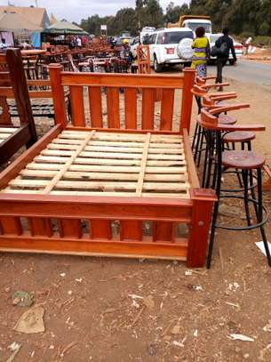 Bed size 5by6.