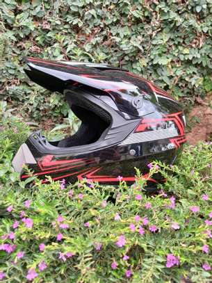 Red Offroad Helmets