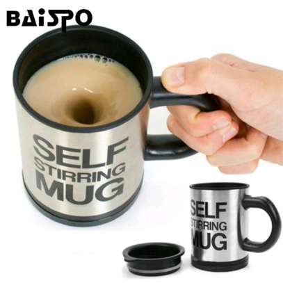 Self stirring mug image 2