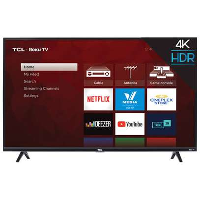 50 inch Tcl smart android 4k TV plus free delivery image 1