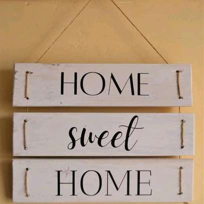 Home sweet home wall hanging image 1