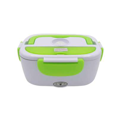 electric Lunch box steel -green image 1