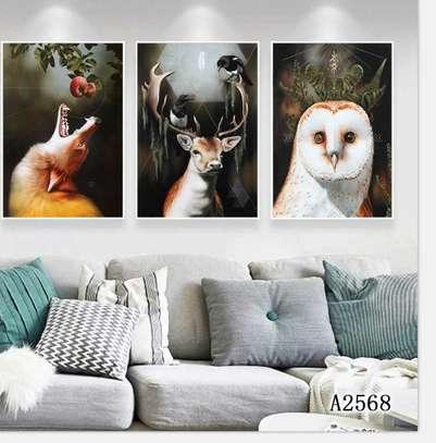 Wild animals Canvas Abstract image 1