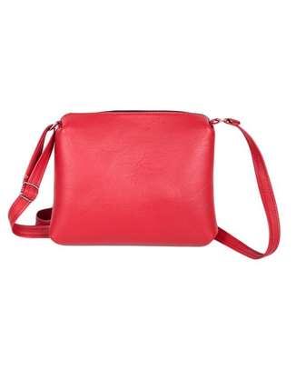 Ladies sling bag(red) image 1