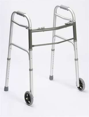 Walking Frame with wheels image 2