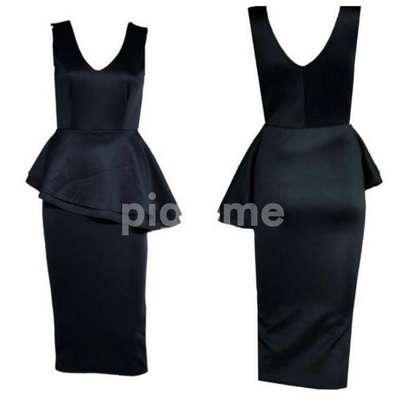 Sleeveless Peplum Dress image 4