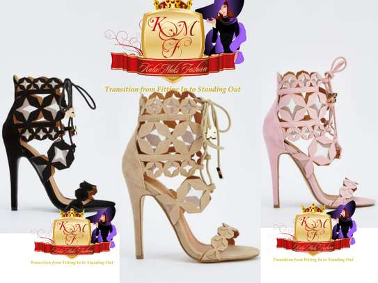 Gladiator Laser Cut Heels Made in UK