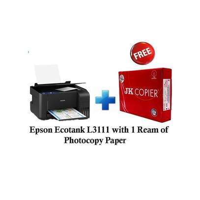 Epson Ecotank L3111 and get 1 Ream of Photocopy Paper