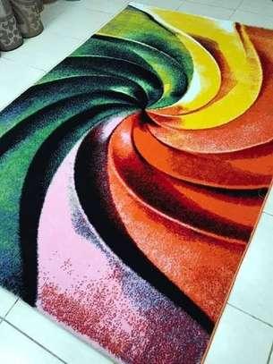 Soft carpets rainbow prints image 1