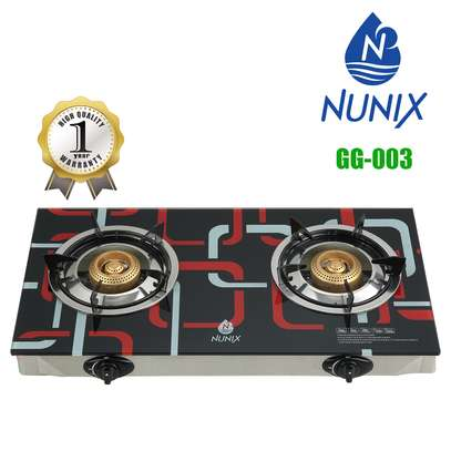 Nunix Tampered Glass Gas Table Cooker image 3