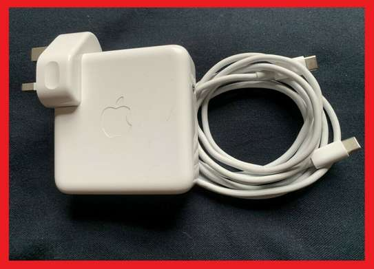 Original Apple 87W USB C Power Adapter/Charger + 2M CABLE image 1