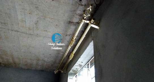 Extensible curtain rods image 4