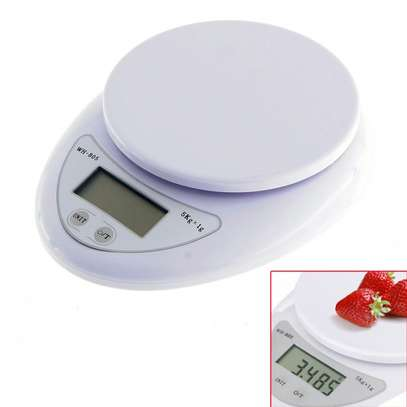 Digital Electronic kitchen 10 Kg weighing scale machine white one size image 4