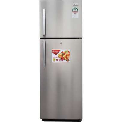 Ramtons RF/293 - Double Door No Frost Refrigerator - 344L - Silver image 2