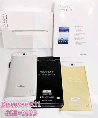 Discover K11, Tablet 7 Inch Dual Sim Android 8.1 64GB, 4GB DDR3, 4G, Wi-Fi, Dual Camera image 4