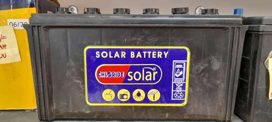 Chloride Solar Battery 100ah image 1